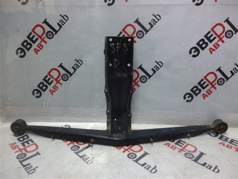 Балка подвески Subaru Forester SF5 EJ201 2000 задняя