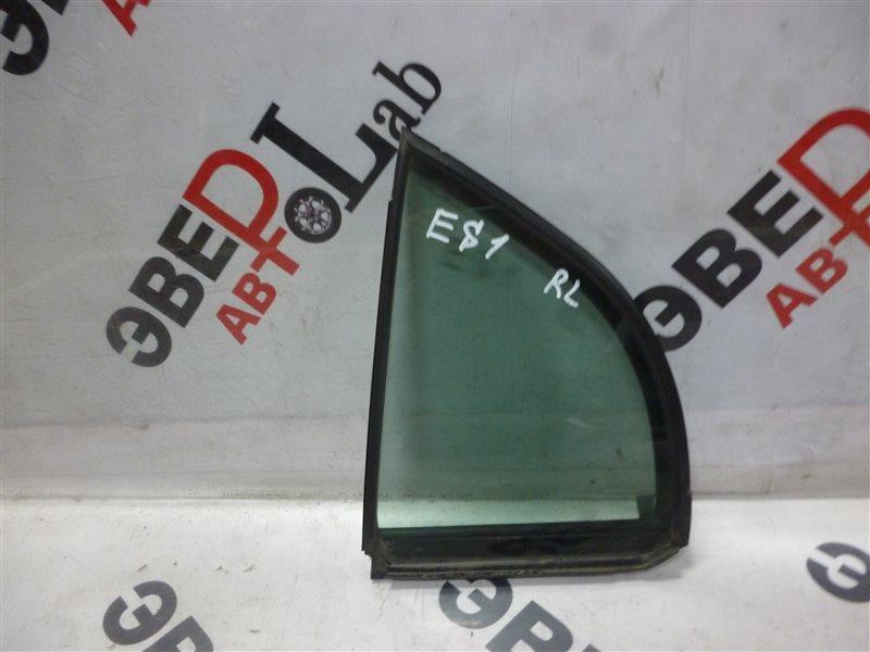 Форточка двери Honda Civic Ferio ES1 D15B 2001 задняя левая