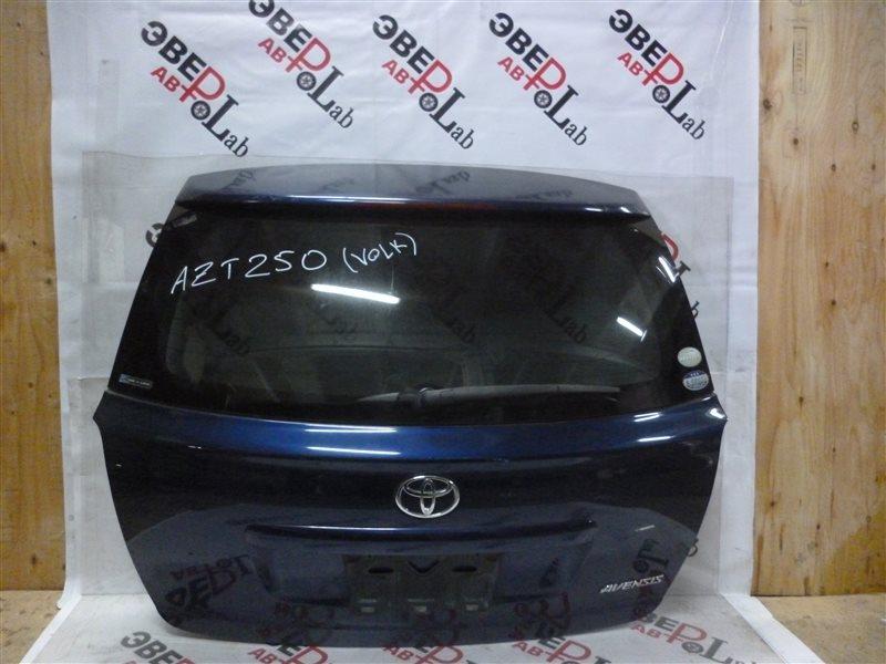 Дверь 5-я Toyota Avensis AZT250 1AZ-FSE 2004