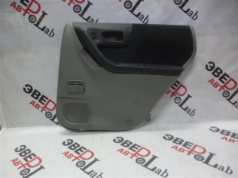Обшивка двери Subaru Forester SF5 EJ201 2000 задняя правая