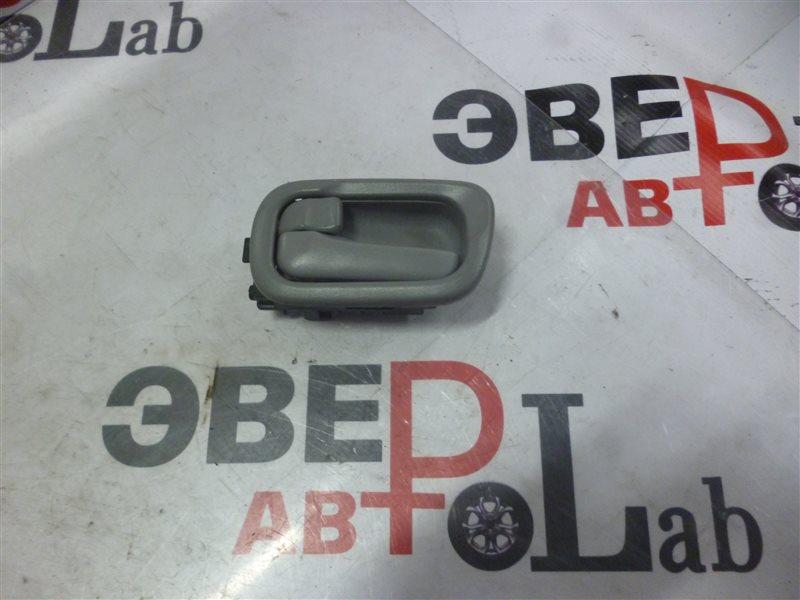 Ручка двери внутренняя Nissan Wingroad WRY11 QR20(DE) 2001 задняя левая