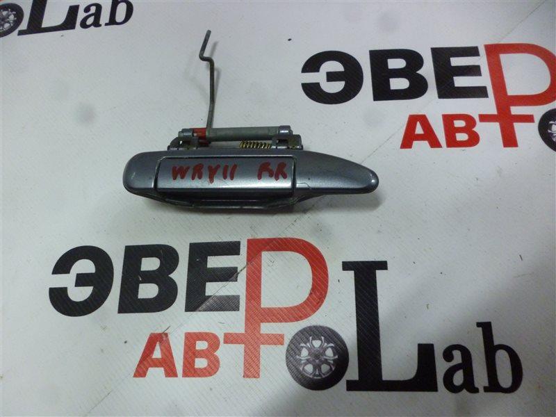 Ручка двери внешняя Nissan Wingroad WRY11 QR20(DE) 2001 задняя правая