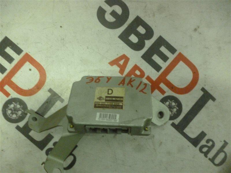 Блок управления efi Nissan March AK12 CR12(DE) 2003