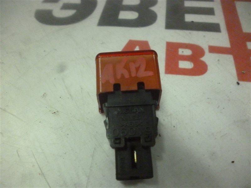 Кнопка аварийной сигнализации Nissan March AK12 CR12(DE) 2003