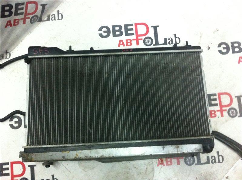 Радиатор охлаждения двс Subaru Forester SF5 EJ205 2001