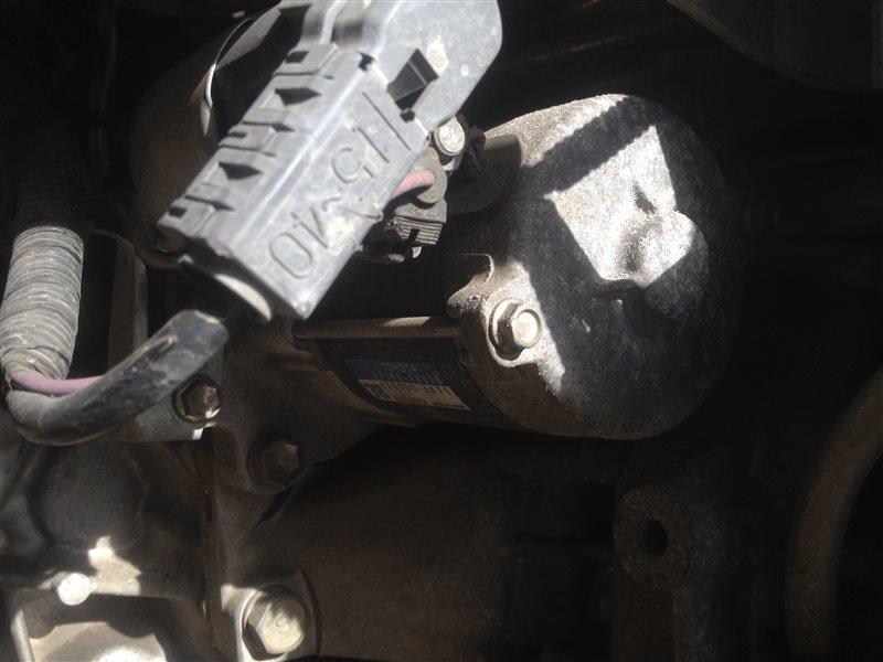 Стартер Toyota Vitz KSP90 1KR 2007