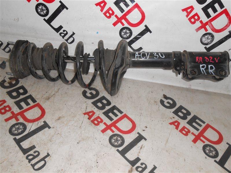 Стойка Toyota Camry ACV30 2AZ-FE 2002 задняя правая