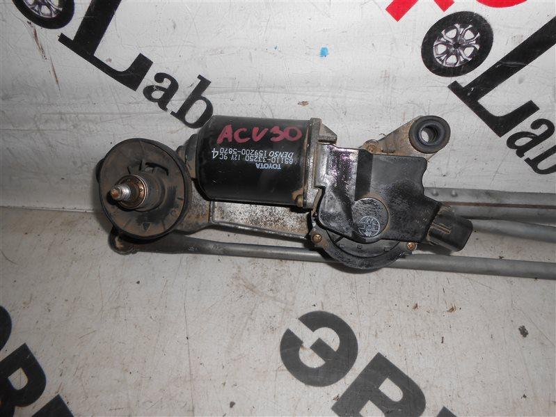 Мотор дворников Toyota Camry ACV30 2AZ-FE 2002