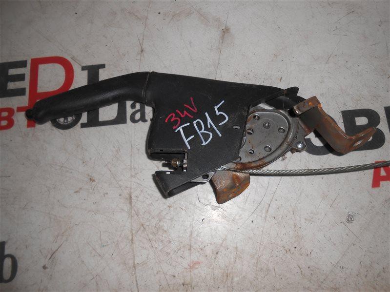 Ручка ручного тормоза Nissan Sunny B15 FB15 QG15 2002