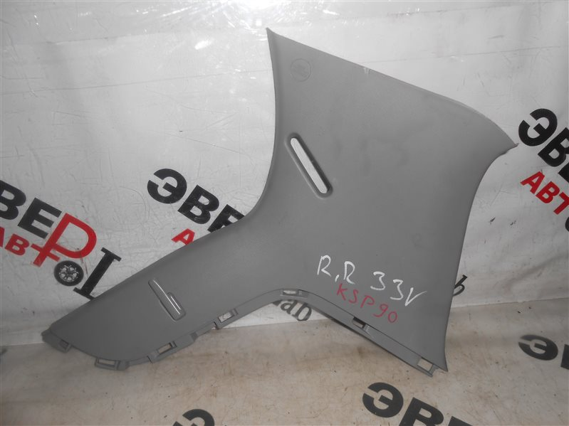Накладка на стойку кузова Toyota Vitz KSP90 1KR 2007 задняя правая