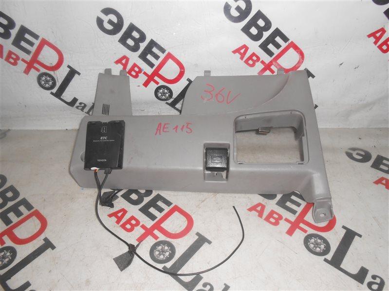 Пластик салона Toyota Spacio AE115 7A-FE 1998