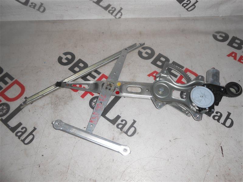 Стеклоподъемник Toyota Vitz KSP90 1KR 2007 передний левый