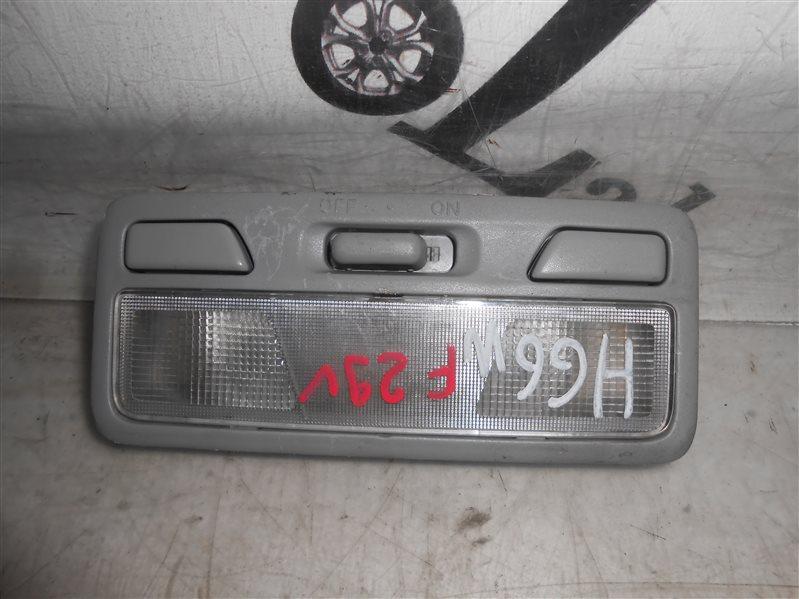 Плафон Mitsubishi Pajero Io H66W 4G93 1998