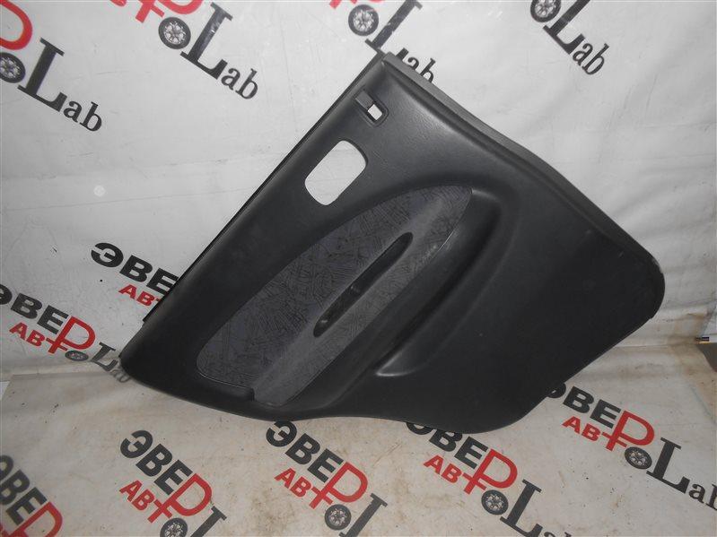 Обшивка двери Honda Hr-V GH3 D16A 2000 задняя левая