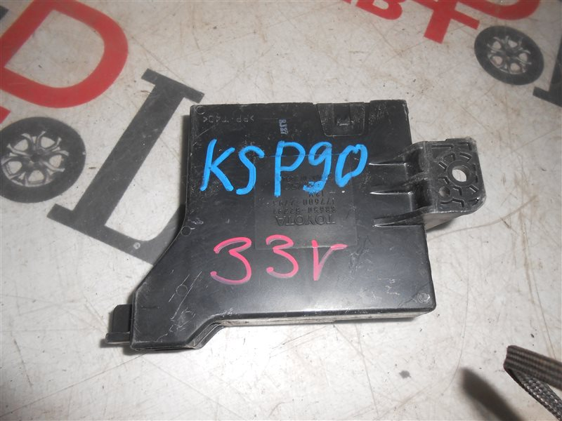 Блок управления кондиционером Toyota Vitz KSP90 1KR 2007