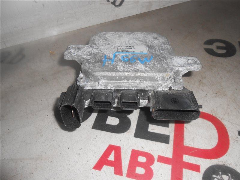 Блок управления рулевой рейкой Mitsubishi Pajero Io H66W 4G93 1998