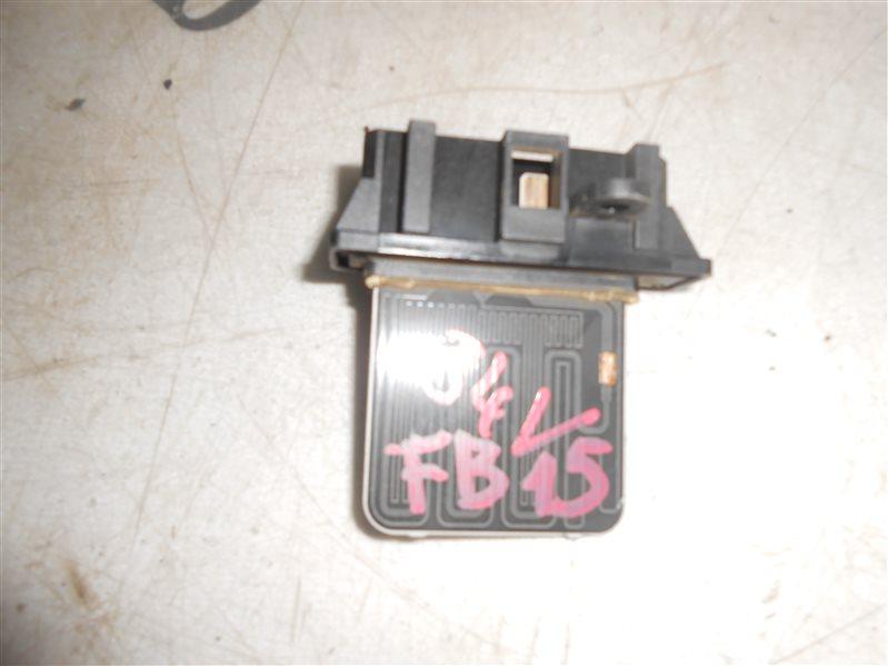 Реостат Nissan Sunny B15 FB15 QG15 2002