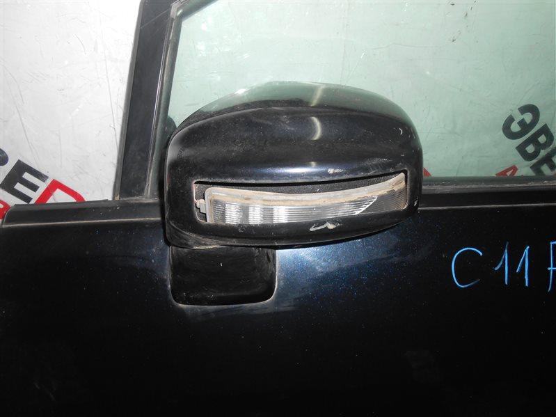 Зеркало Nissan Tiida C11 HR15 2006 левое