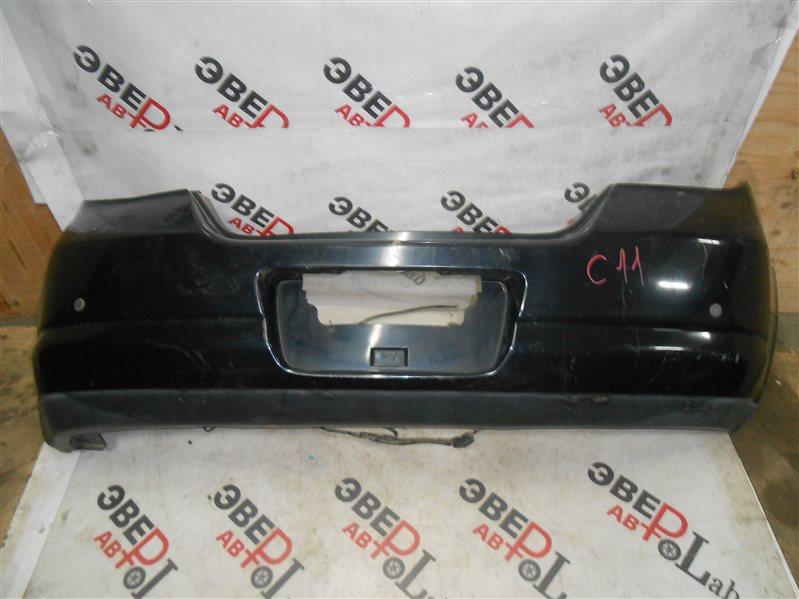 Бампер Nissan Tiida C11 HR15 2006 задний