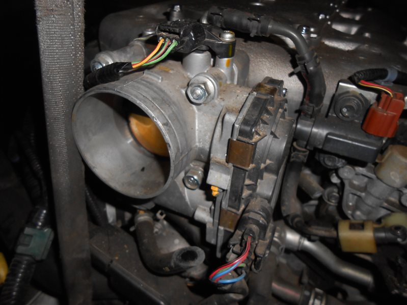 Дроссельная заслонка Honda Inspire UC1 J30A 2007