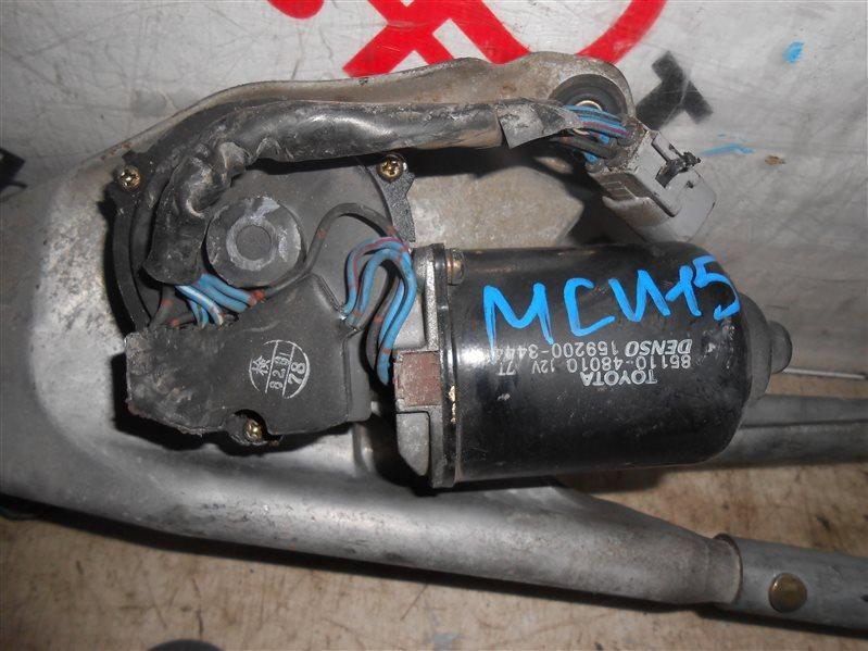 Мотор дворников Toyota Harrier MCU15 1MZ-FE 2000
