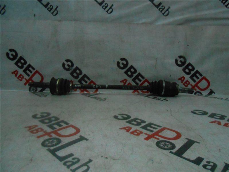 Привод Subaru Impreza GH3 EL154 2008 задний