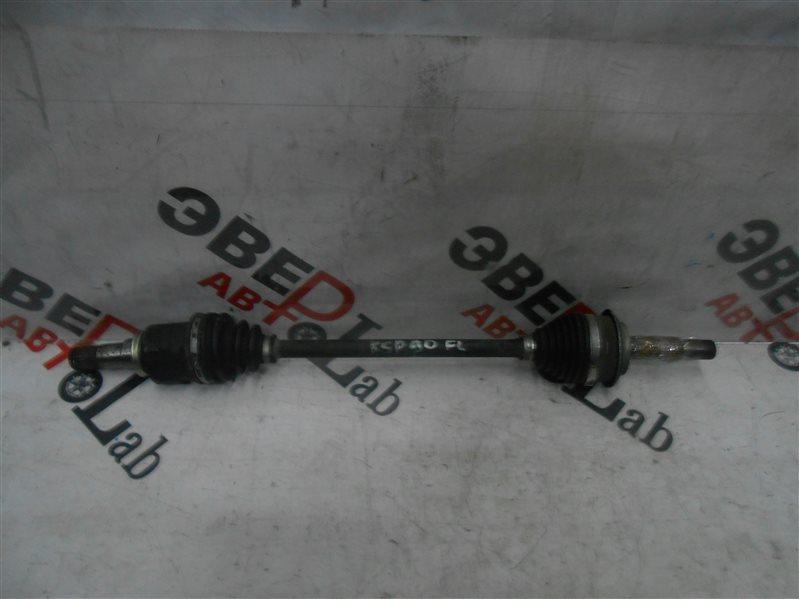 Привод Toyota Vitz KSP90 1KR 2007 передний левый