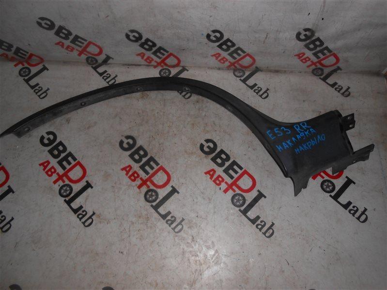Накладка на крыло Bmw X5 E53 M54B30 2004 задняя правая