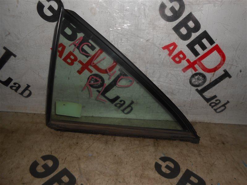 Форточка двери Toyota Camry ACV40 2AZ-FE 2008 левая