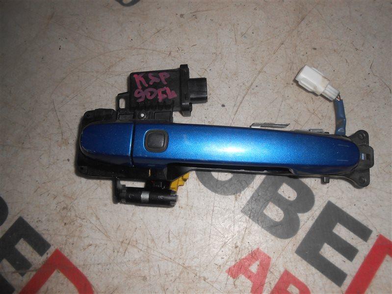 Ручка двери внешняя Toyota Vitz KSP90 1KR 2007 передняя левая
