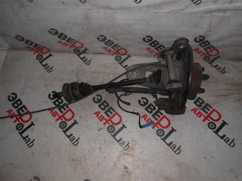 Привод Bmw X5 E53 M54B30 2004 задний левый