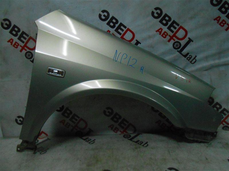 Крыло Nissan Primera TP12 QR20(DE) 2002 переднее правое