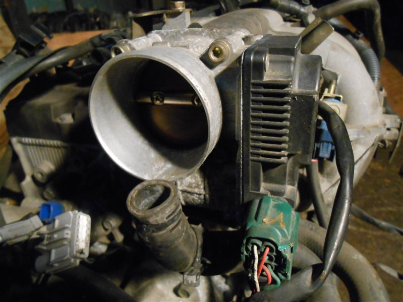 Дроссельная заслонка Nissan X-Trail NT30 QR20(DE) 2002