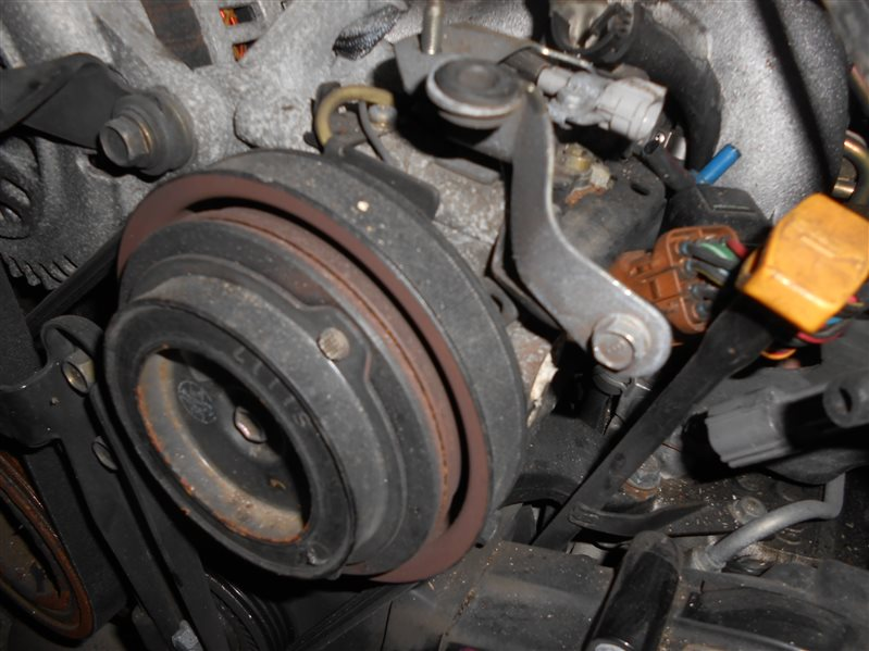 Компрессор кондиционера Subaru Legasy BH5 EJ206 2002