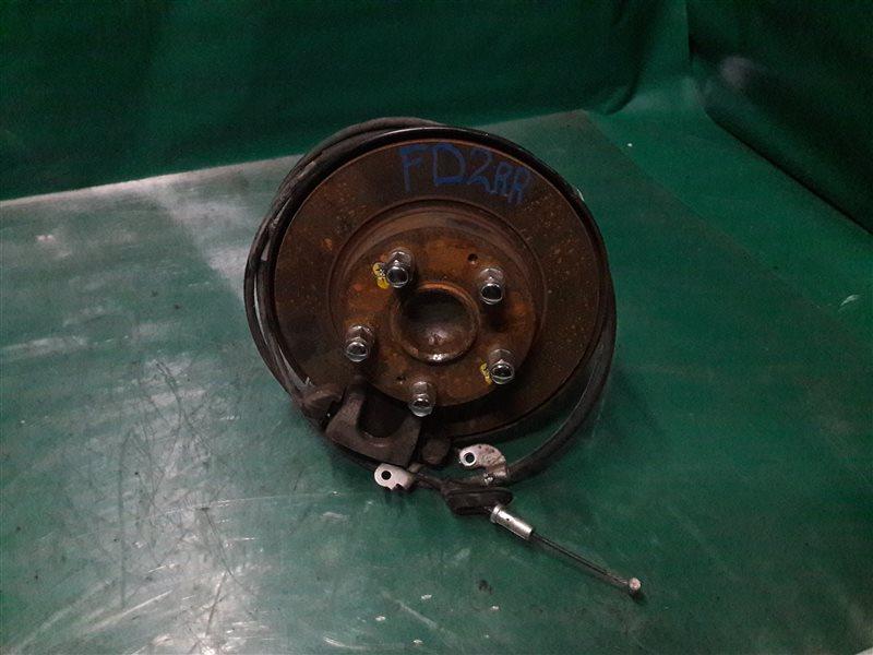 Тормозной диск Honda Civic FD1 K20A 2008 задний
