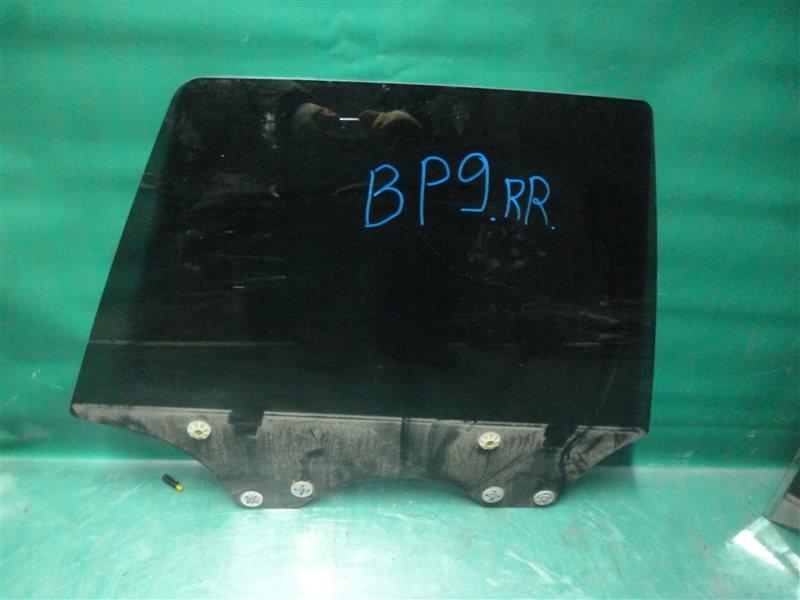 Стекло двери Subaru Outback BP9 EJ253 2005 заднее правое