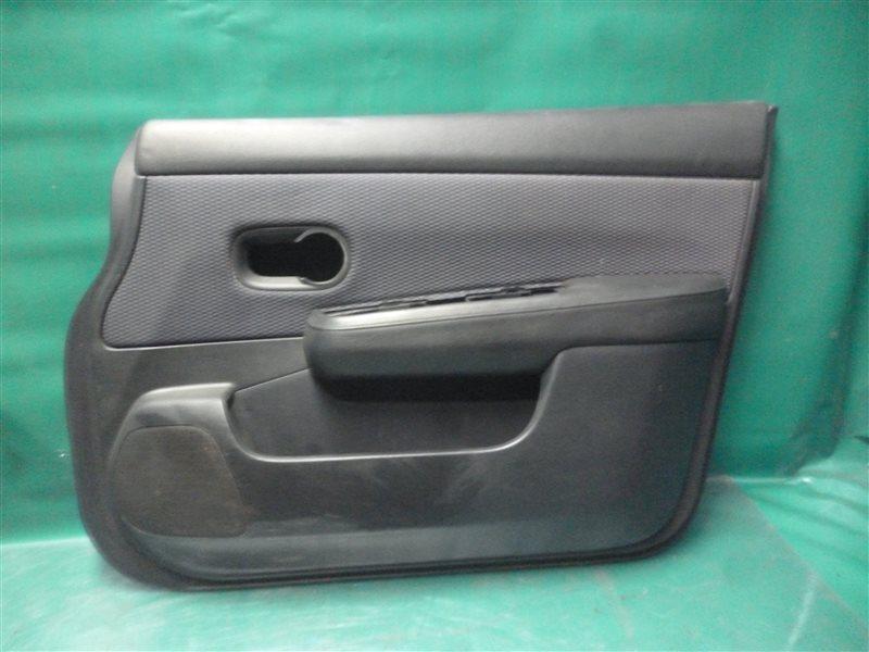 Обшивка двери Nissan Tiida C11 HR15 2006 передняя правая