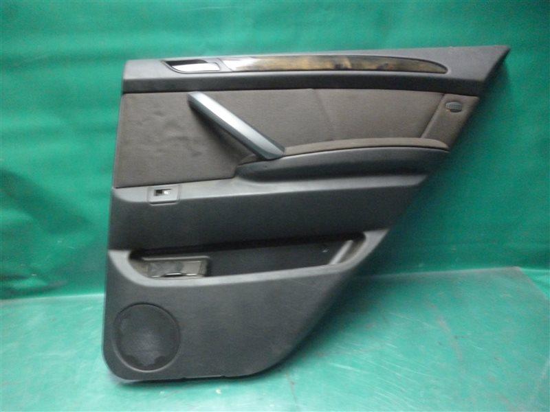 Обшивка двери Bmw X5 E53 M54B30 2004 задняя правая