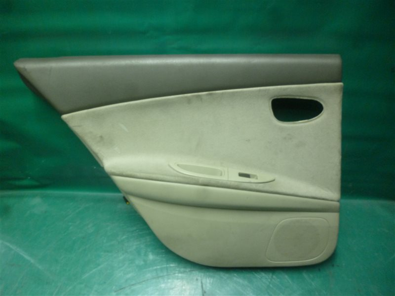 Обшивка двери Nissan Primera TP12 QR20(DE) 2002 задняя левая