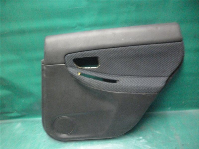 Обшивка двери Subaru Impreza GG2 EJ152 2006 задняя правая