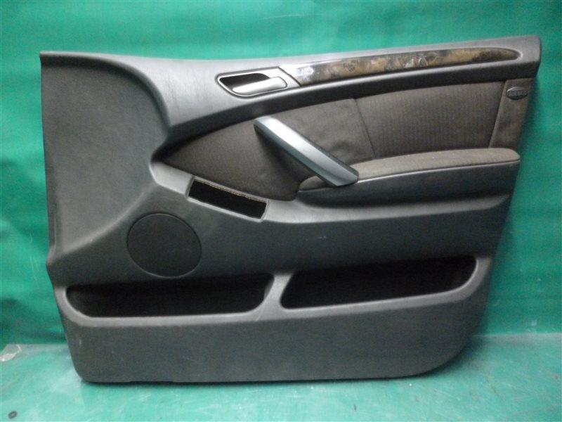 Обшивка двери Bmw X5 E53 M54B30 2004 передняя правая