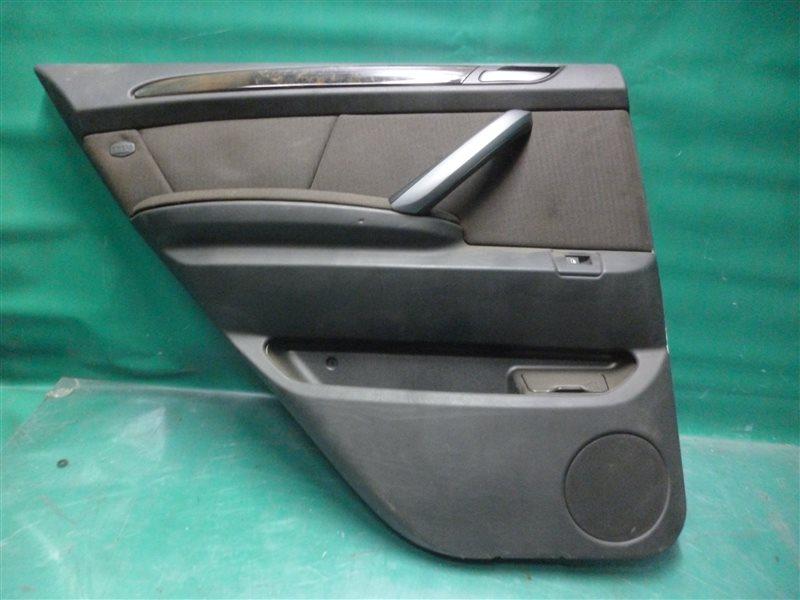 Обшивка двери Bmw X5 E53 M54B30 2004 задняя левая