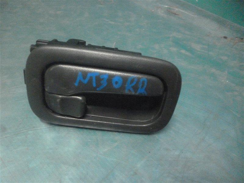 Ручка двери внутренняя Nissan X-Trail NT30 QR20(DE) 2002 задняя правая