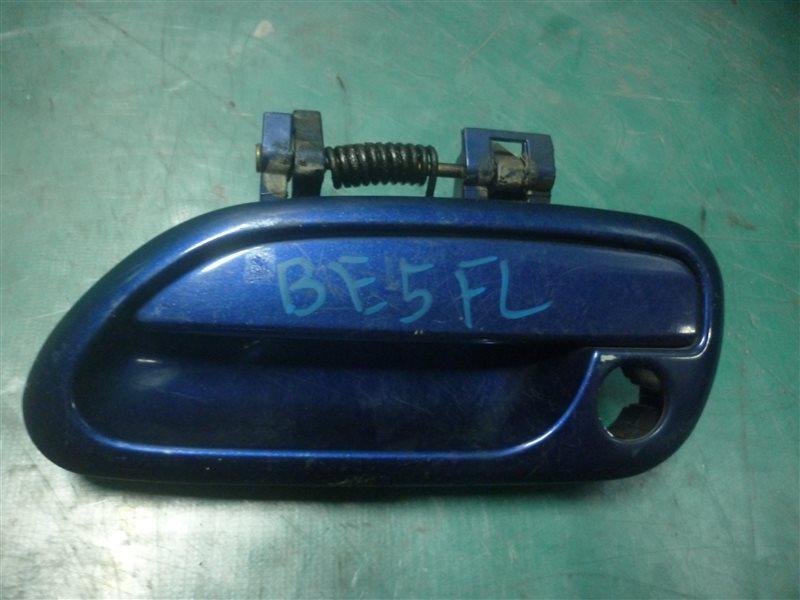 Ручка двери внешняя Subaru Legasy B4 BE5 EJ206 2002 передняя левая