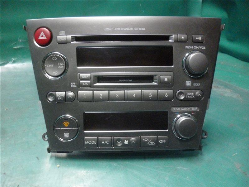 Блок управления климат-контролем Subaru Outback BP9 EJ253 2005