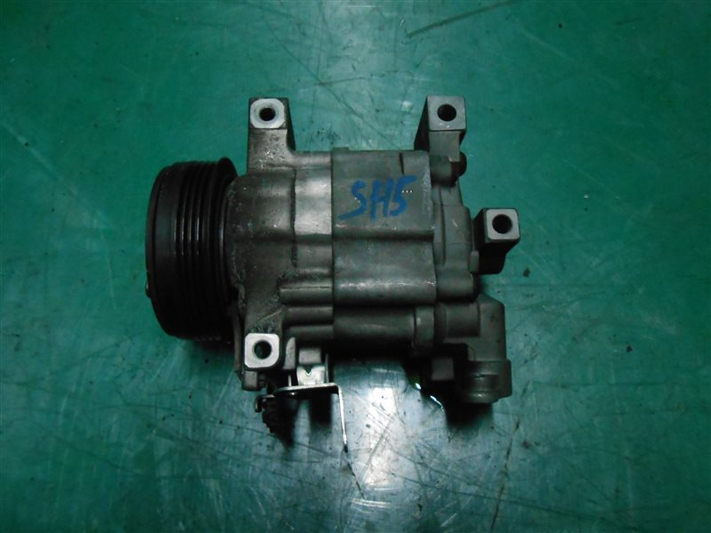 Компрессор кондиционера Subaru Forester SH5 EJ205 2008