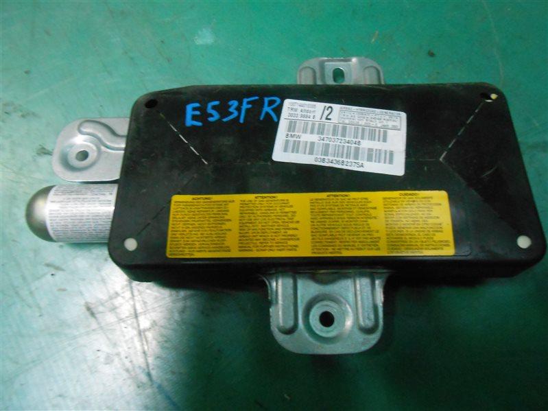 Подушка безопасности Bmw X5 E53 M54B30 2004 передняя правая