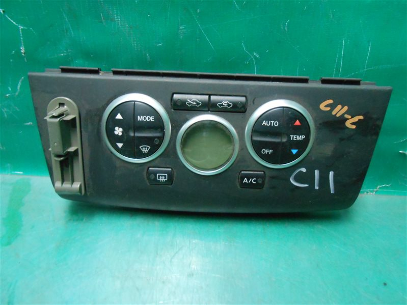 Блок управления климат-контролем Nissan Tiida C11 HR15 2006