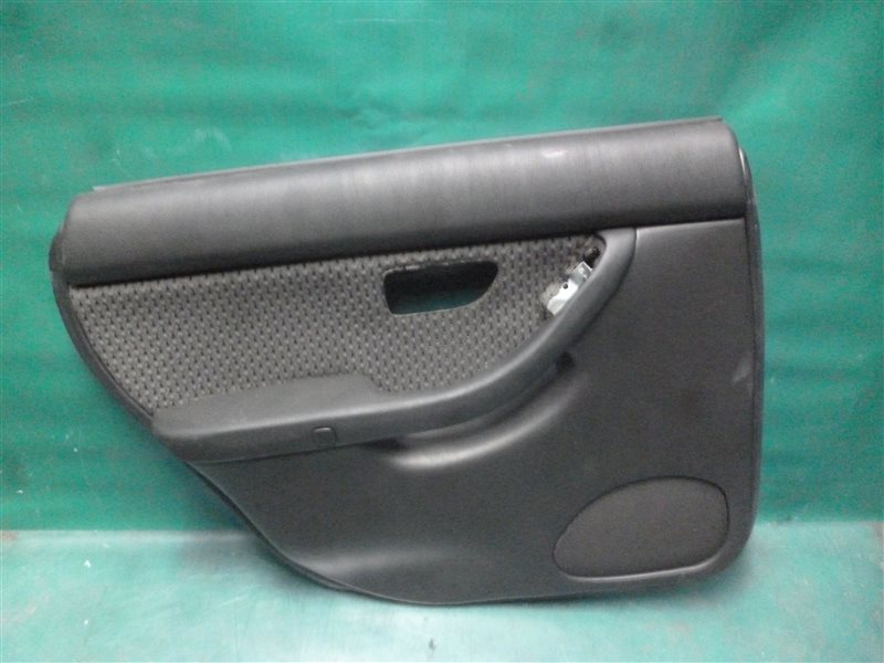Обшивка двери Subaru Legasy B4 BE5 EJ206 2002 задняя левая
