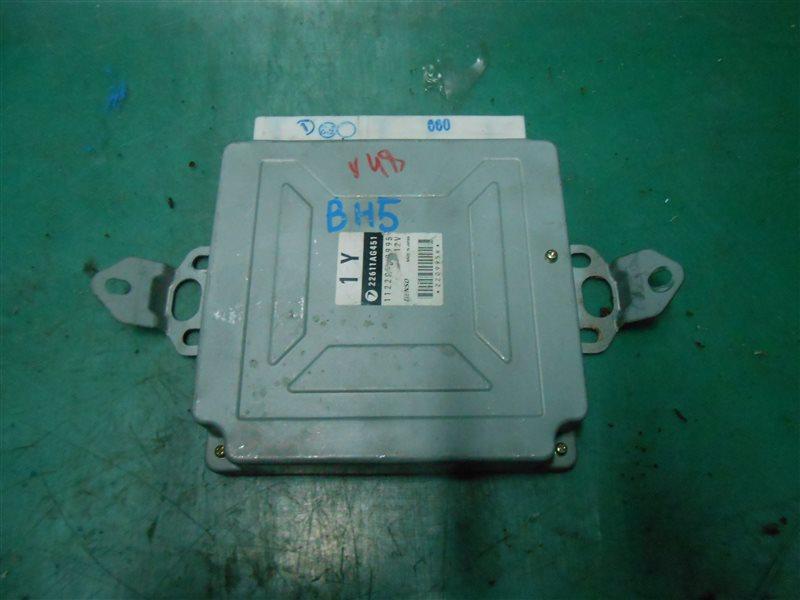 Компьютер Subaru Legasy BH5 EJ206 2002